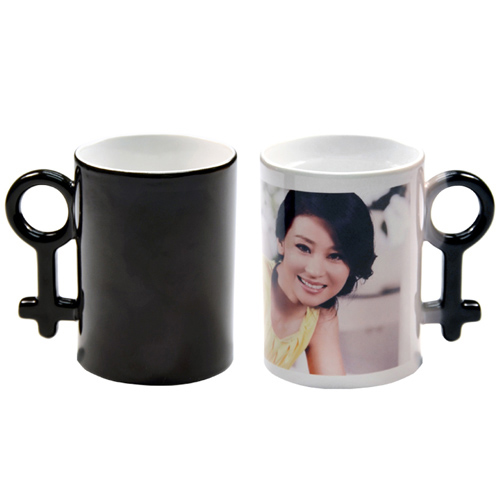 10oz Couple Color Changing Mugs (Black)